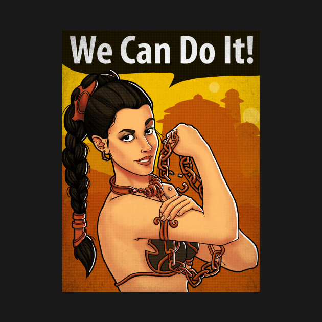 Leia can do it!