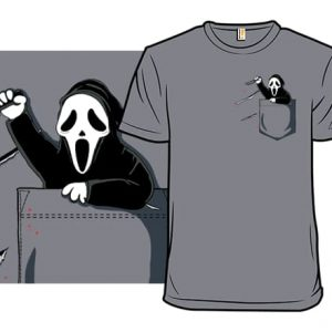 Pocket Killers Ghostface T-Shirt