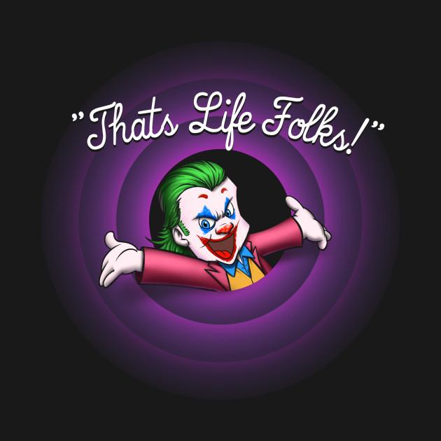 That's Life Folks (Black)