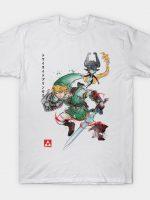 Twilight Wolf Watercolor T-Shirt