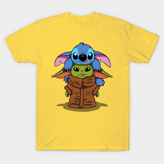 Stitch/Yoda Baby T-Shirt