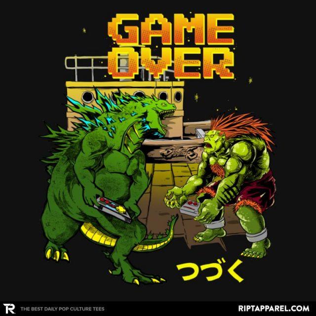 Godzilla/Street Fighter