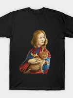Heroine with an cat T-Shirt