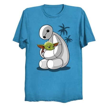 Baymax/Baby Yoda T-Shirt