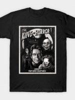 King of Horror mono T-Shirt