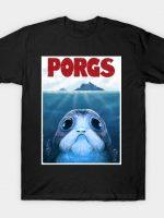 PORGS (black tshirt) T-Shirt