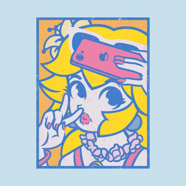 Princess Peach Selfie