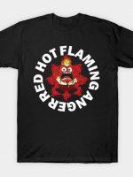 Red Hot Flaming Anger T-Shirt