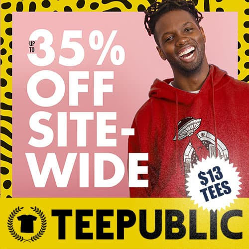 TeePublic Sale Square