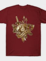 Crit Happens (20) [Gold] T-Shirt