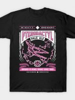 Mighty Brews - Pink Pterodactyl T-Shirt