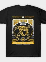 Mighty Brews - Yellow Saber-Toothed Tiger T-Shirt
