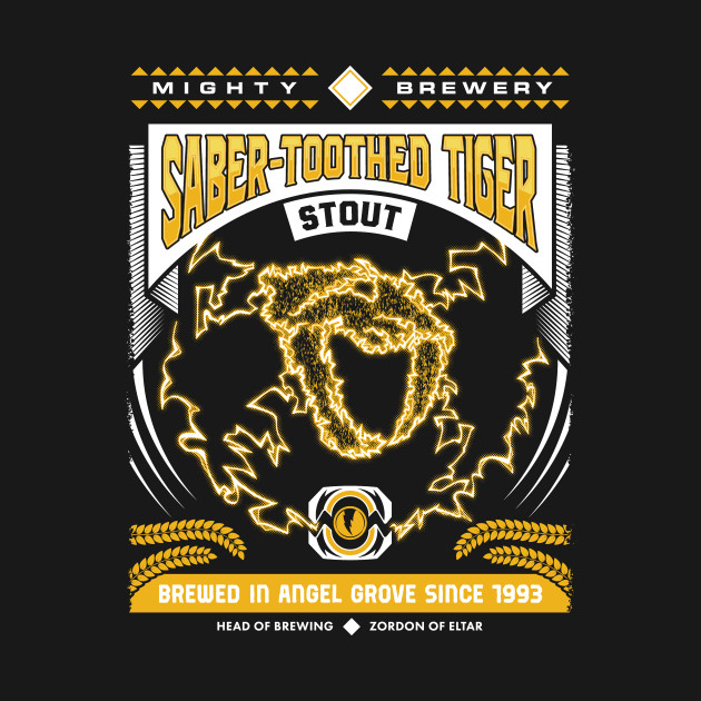 Mighty Brews - Yellow Saber-Toothed Tiger