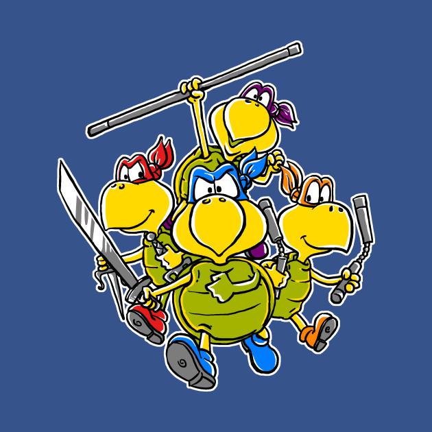 Ninja Koopas!