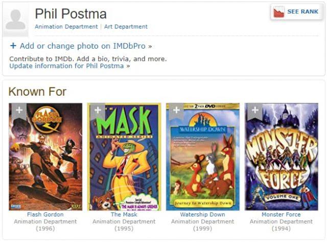 Phil Postma on IMDB