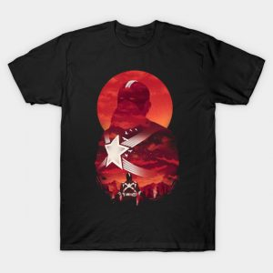 Red Guardian Sunset T-Shirt
