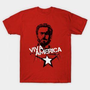 Viva Captain America T-Shirt