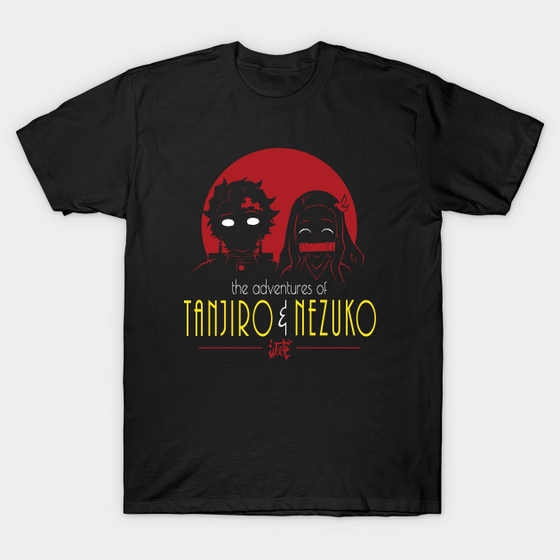 Adventures of Tanjiro & Nezuko T-Shirt