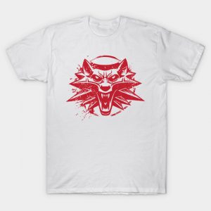 I am the witcher red T-Shirt