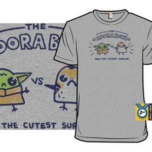 Baby Yoda and Porg T-Shirt
