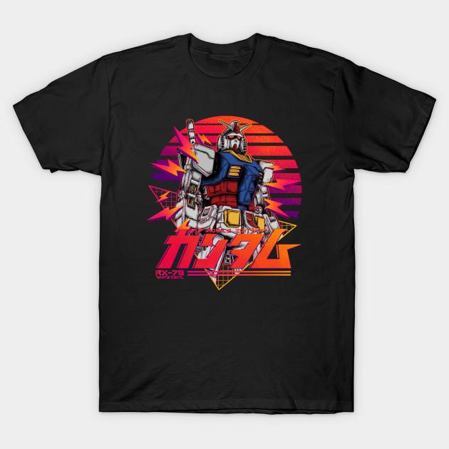 gundam rx 78 retro T-Shirt