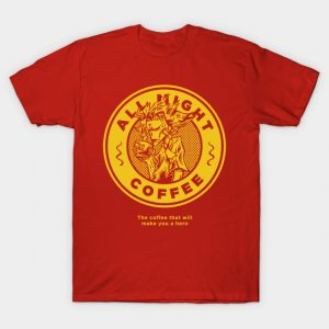 All Might Coffee T-Shirt