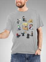Super Cute Super Villains T-Shirt